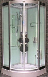 AcquaVapore DTP8046-5002 Dusche Dampfdusche Duschtempel Duschkabine 90x90 XL
